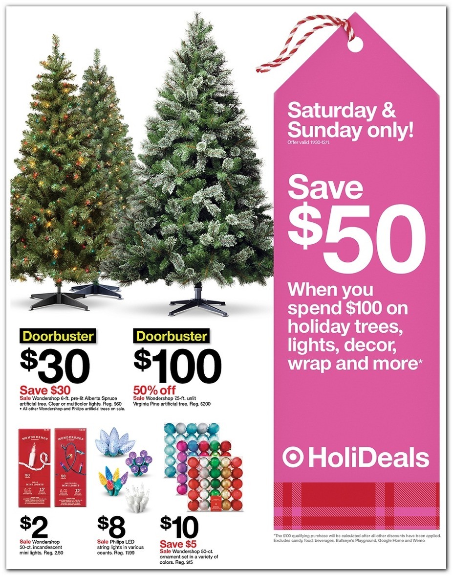 Holiday Decorations / $50 off $100