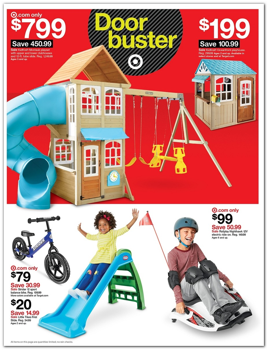 Outdoor Playset / Slide / Ride-on
